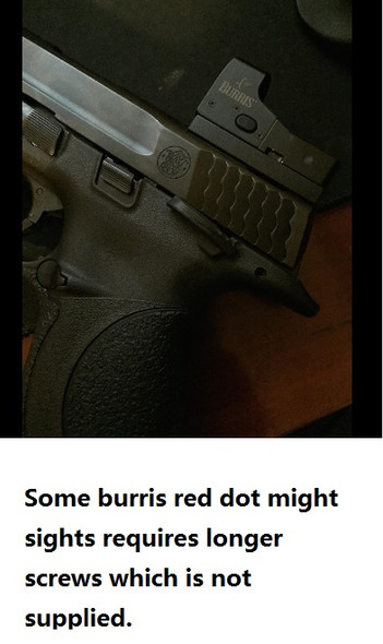 HK USP Tactical 9mm 45ACP 40 SW  Pistol Mount Plate for Vortex venom, burris fastfire, meopta, eotech mrds, docter, insight Red Dot Reflex Sight