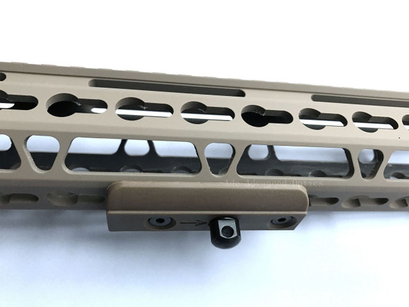 FDE! KeyMod rail Slot Sling Swivel Stud Bipod Adapter Flat Dark Earth