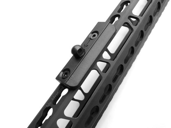 ADE Advanced Optics Tactical Low Profile KeyMod rail Slot Sling Swivel Stud Bipod Adapter