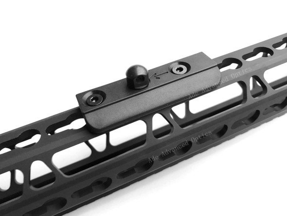 ADE Advanced Optics Tactical Low Profile KeyMod rail Slot Sling Swivel Stud Bipod Adapter