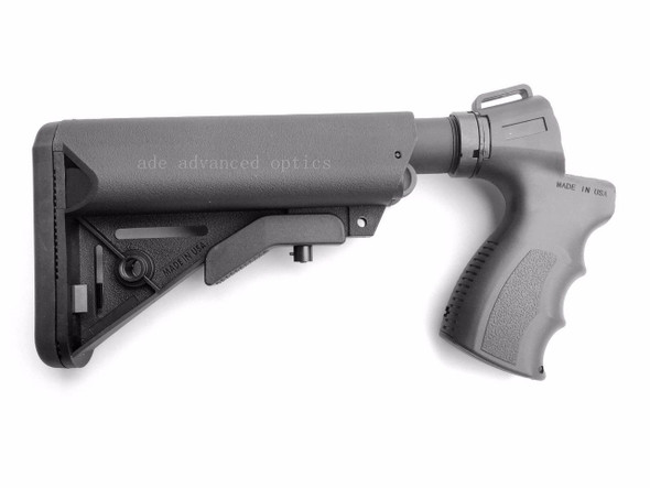 MADE IN USA! 12 GA Tactical Sopmod Shotgun Stock+Pistol Grip for Mossberg 500 590 535