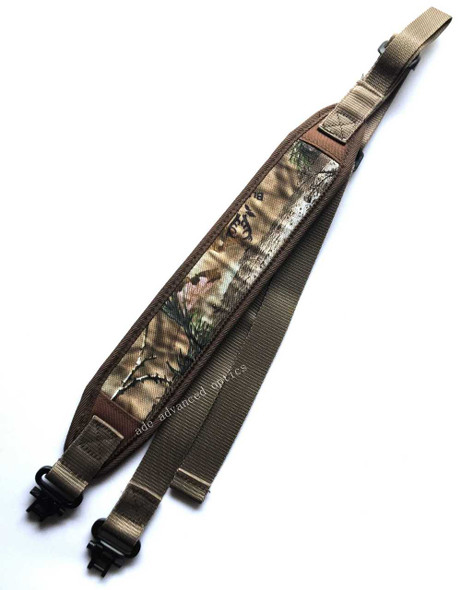 CAMOUFLAGE! Hunting Rifle 2 Point Sling Mil-Spec Swivels, Shoulder Strap