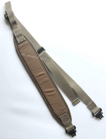 FDE/TAN color! Hunting Rifle 2 Point Sling Mil-Spec Swivels, Shoulder Strap