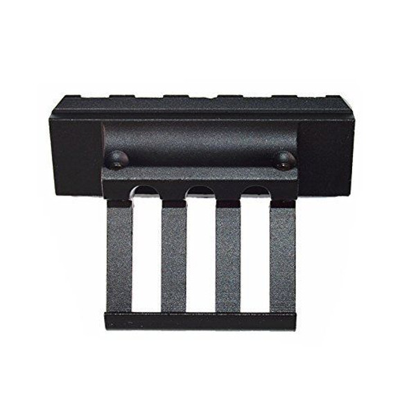 Tactical Extremely Low Profile Offset rail mount for Picatinny Rails laser black