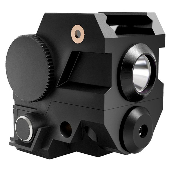 ADE ALCB Super Compact Green LASER + FLASHLIGHT sight Fits All sub-compact pistol Springfield,Smith Wesson SW MP, Ruger, Taurus,Glock,Bersa,Beretta,HK,Taurus,Walther,Springfield,Sig Sauer
