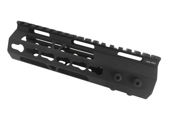 "MADE IN USA!- ADE PRO 7"" INCH KEYMOD RAIL SUPER SLIM HANDGUARD FREE FLOAT KEYMOD"