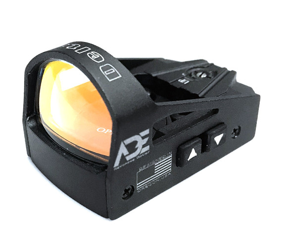 Ade Advanced Optics rd3-012 6MOA Waterproof Red Dot Micro Mini Reflex Sight for Handgun and Glock MOS