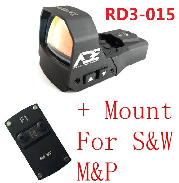 Ade RD3-015 Zantitium RED Dot Reflex Sight for Smith Wesson SW MP Shield SD9 SD SD40 MP SD40VE