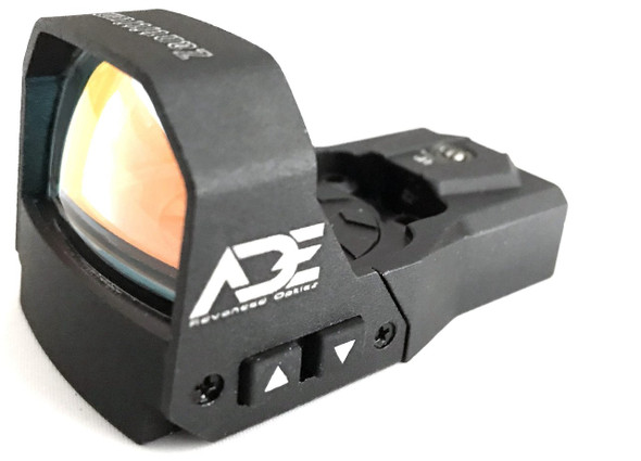 Ade Advanced Optics rd3-015 Zantitium 4MOA Waterproof Red Dot Micro Mini Reflex Sight for Handgun