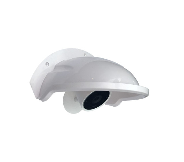 UNIVERSAL SUN RAIN SHADE CAMERA COVER SHIELD FOR NEST IQ/RING/ARLO/DOME/BULLET OUTDOOR CAMERA - WHITE