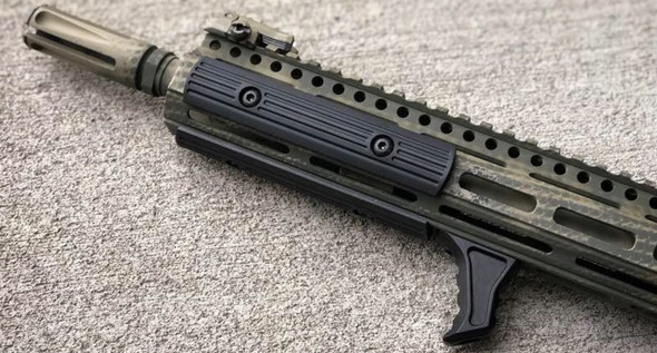 TALL! HAND STOP Tactical MLOK Forend Foregrip 4 M-LOK System Angled Forward Grip