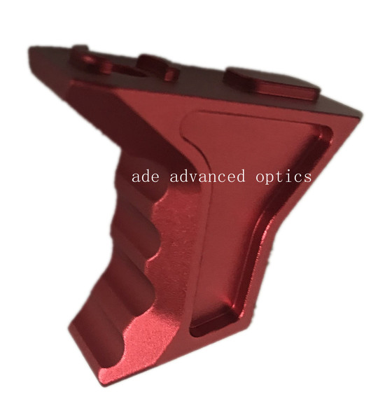 TALL RED! Metal MLOK Finger Hand Stop Metal for M-LOK Foregrip Handguard