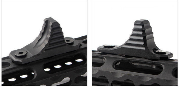 HAND STOP Tactical MLOK Forend SharkFin Foregrip for M-LOK System Angled Forward Grip