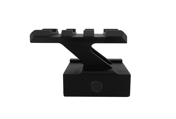"ADE ADVANCED OPTICS High Profile Compact Picatinny Rail Riser Mount for Red Dot Reflex Sight, 1"" High, 3 Slots"