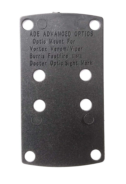 Ade Advanced Optics Optics Delrin Shims  1.0 Degree for Vortex Venom & Viper, Eotech MRDS, Insight , Docter, Meopta, Sightmark, Burris Fastfire II, III,Red dot Sight