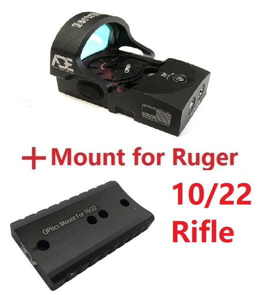 Ade Advanced Optics RD3-013 Bertrillium Red Dot Sight for Ruger 10/22 Rifle