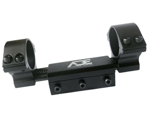 ADE High Profile Zero Recoil Mount, 25.4mm 30mm Rifle Scope Rings . Recoil Reduction Riflescope Mount