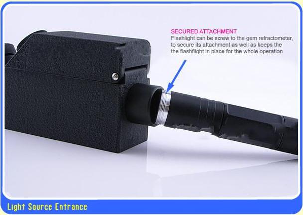Monochromatic Light source for Gems Refractometer. Gemstone Gemological Testing
