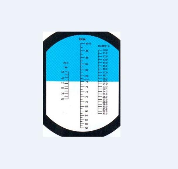 Brix Refractometer-High Measuring Range Honey tester 58%-90%. Beerkeeping, bees