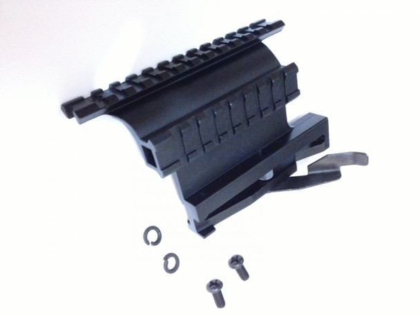 Tactical Saiga Quick Detach QD Side Mount with Dual Double Picatinny/weaver Rail