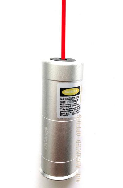 Ade Advanced Optics Red Laser Bore Sight 12 GA Gauge Barrel Boresighter 12g 12ga