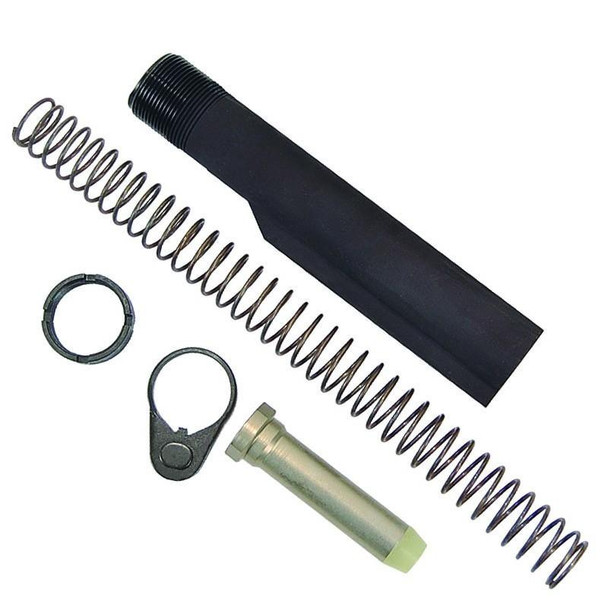Made in USA! MIL-SPEC AR Receiver Extension Buffer Tube Kit f/ carbine style 6 position stock