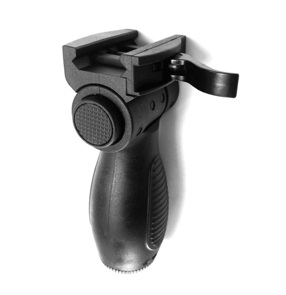 7 Position Left-Right Traverse Swivel Rotate Foregrip with Quick Release Mount