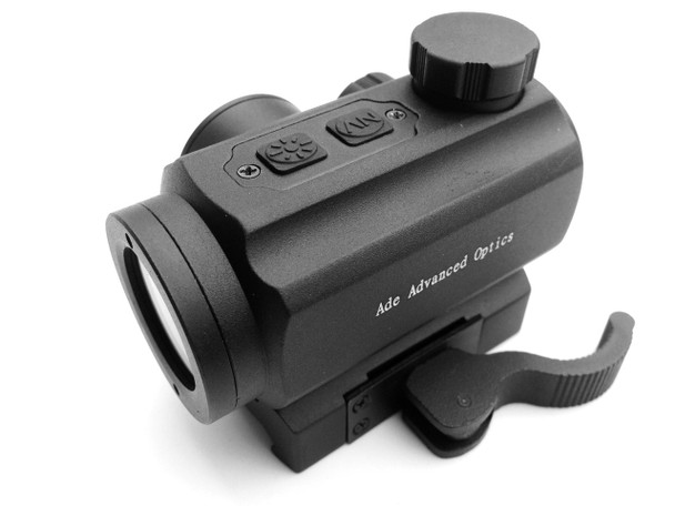 Ade Advanced Optics 1x20 Infrared Red Dot Scope Sight Quick Release Mount for Night Vision Shooting Hunting RD4-005