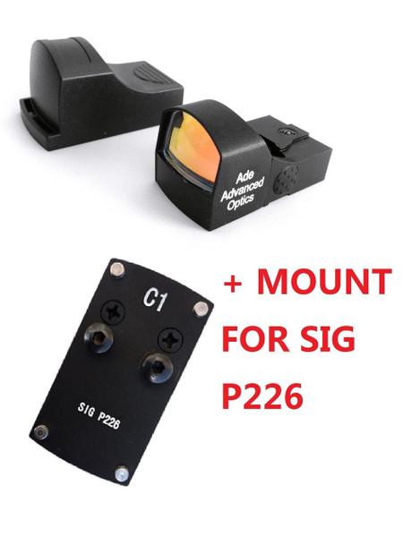 Ade Advanced Optics RD3-009 Compact Red Dot Reflex Sight for  Sig-Sauer-P226 Pistol