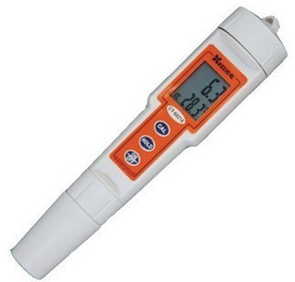 CT-6021 Waterproof PH meter Pen type digital PH meter Waterproof test Portable