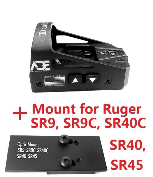 Ade Advanced Optics Delta RD3-012 Red Dot Reflex Sight for SR9,SR9C,SR40C,SR40,SR45 Pistol