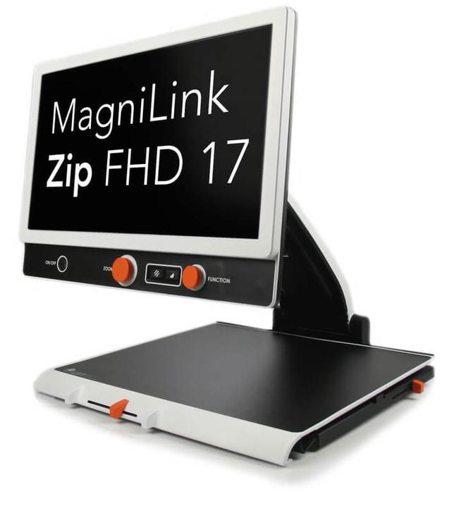 """Magnilink Zip 17"""" Premium FHD 1080 desktop video magnifier"""