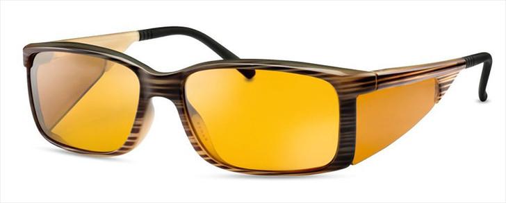 WellnessPROTECT Eyewear - Large Brown Frame