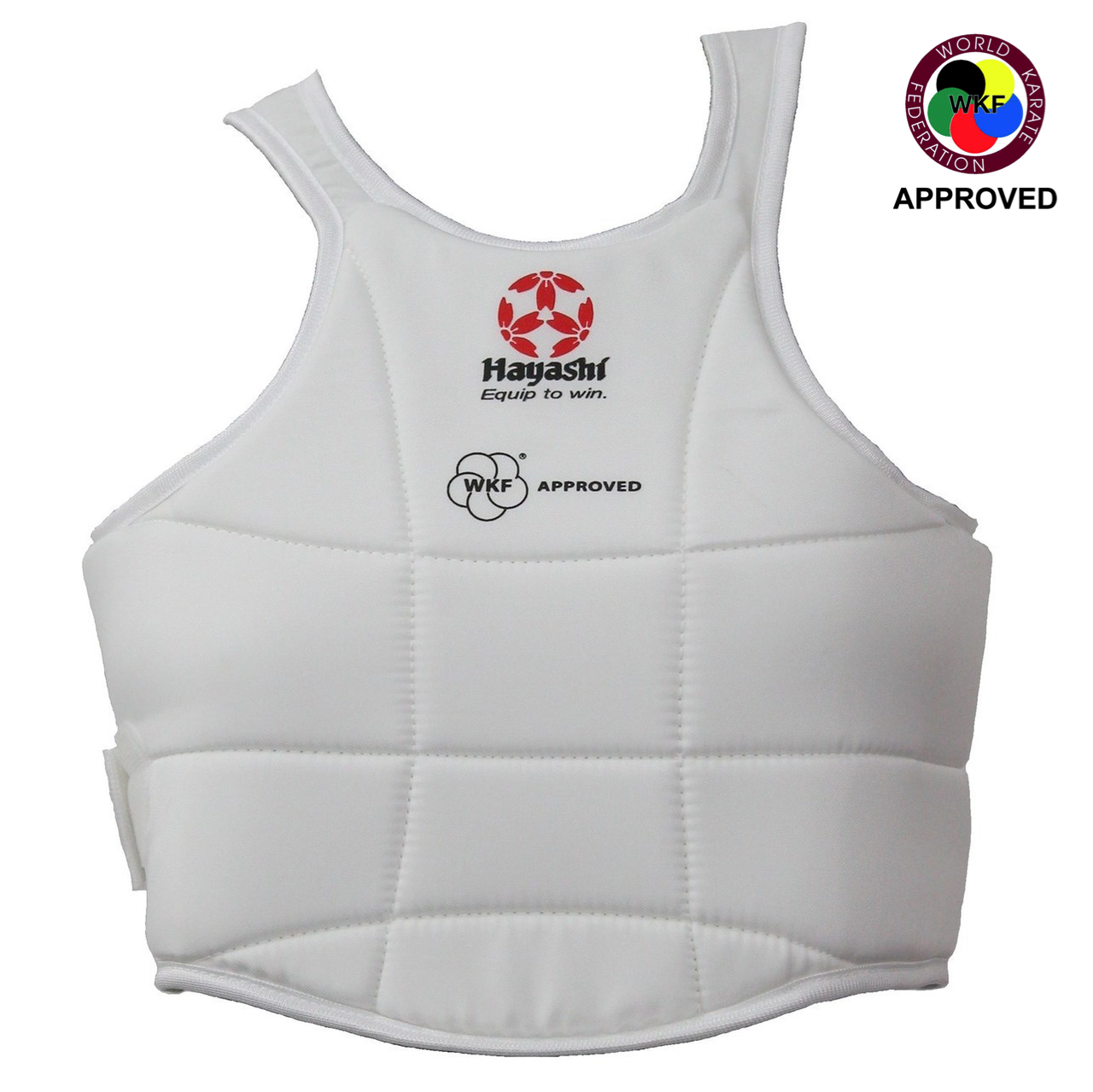 adidas Karate WKF Approved Sparring Body Protector