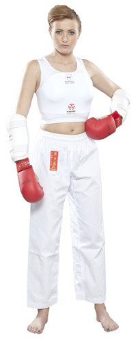 "HAYASHI ""Maxi"" Women´s Chest Guard WKF Appr. (392-1)"