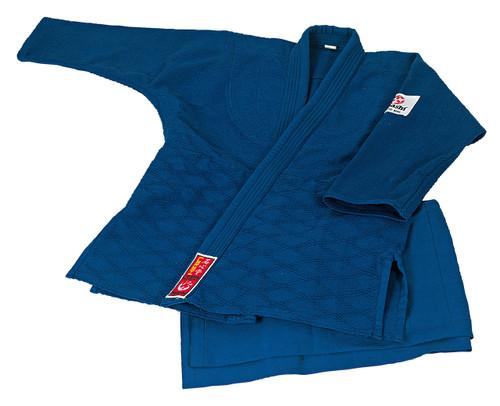 HAYASHI KIRIN Judogi BLUE  - Adult 170cm/180cm