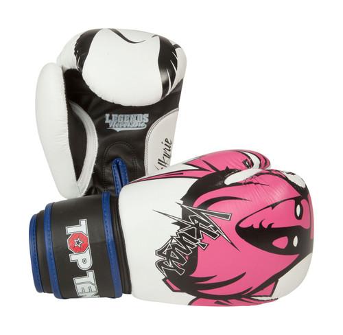 """TOP TEN Boxing Gloves """"Vikings"""" Girls (2368-17)"""