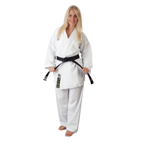 Hayashi DELUXE KUMITE Gi with No Shoulder Embroidery 190cm (0471-1190)