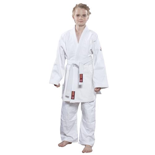 "Judo Uniform ""KIRIN"" 550g Hayashi - White - Children Size 150cm (002-1)"