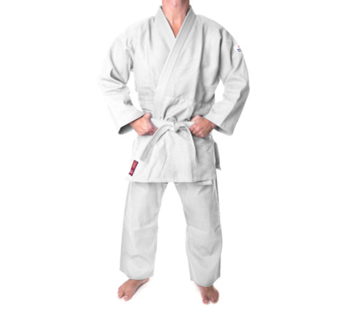 "Judo Uniform ""KIRIN"" 550g Hayashi - White - Adult Size 170cm/180cm (002-1)"