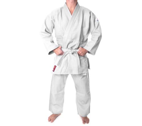 "Judo Uniform ""KIRIN"" 550g Hayashi - White - Adult Size 190cm/200cm (002-1)"