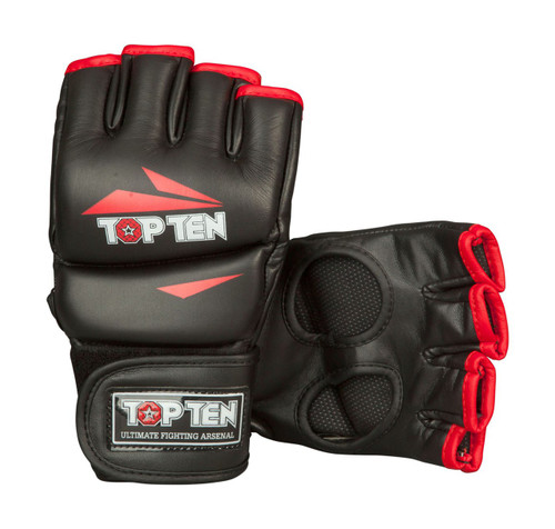 """TOP TEN MMA Ultimate Fight Gloves """"Triangle"""" (23111-94)"""