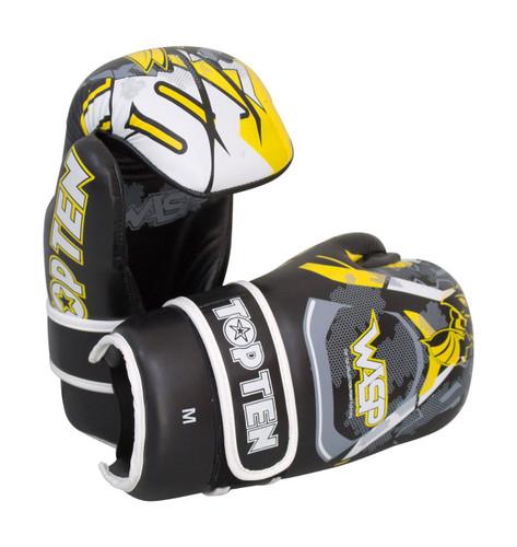 "TOP TEN Pointfighter Gloves ""Wasp"" Black/Yellow (21663-92)"