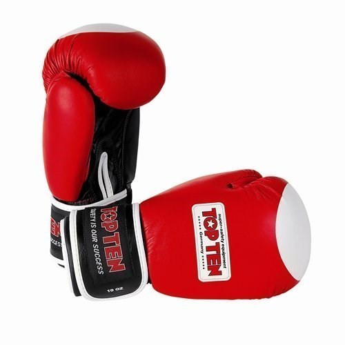 "TOP TEN Boxing Gloves ""WAKO"" Red (2011-4010)"