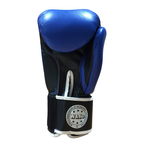 "TOP TEN Boxing Gloves ""WAKO"" Blue (2011-6010)"