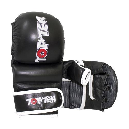 "TOP TEN Striking Gloves MMA ""Thumb Guard"" Black (23341-9)"