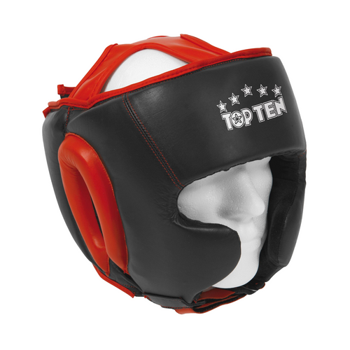 TOP TEN Head Guard Boxing/Sparring without Chin Guard (4043-9)