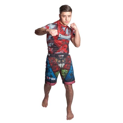 """TOP TEN MMA Shorts """"SAMURAI"""" Design II"""