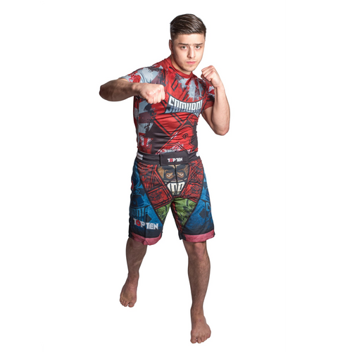 "TOP TEN MMA Shorts ""SAMURAI"" Design II"