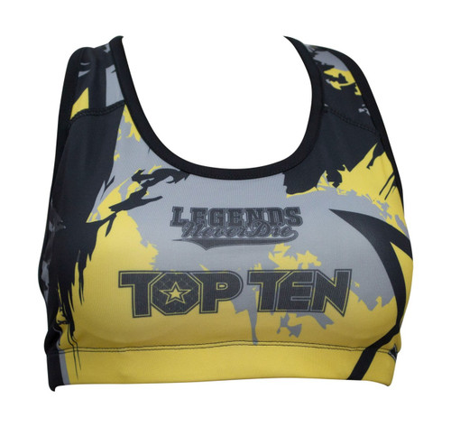 Compression Bra Samurai Yellow